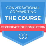 Conversational Copywriting Course Completion Badge