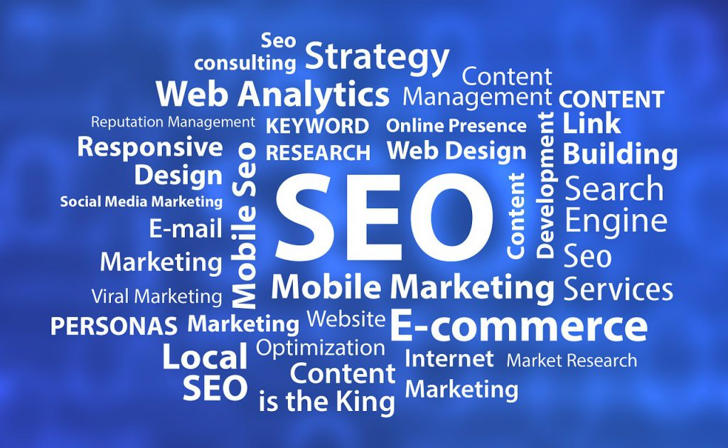Diagram of SEO and Online Marketing Strategies